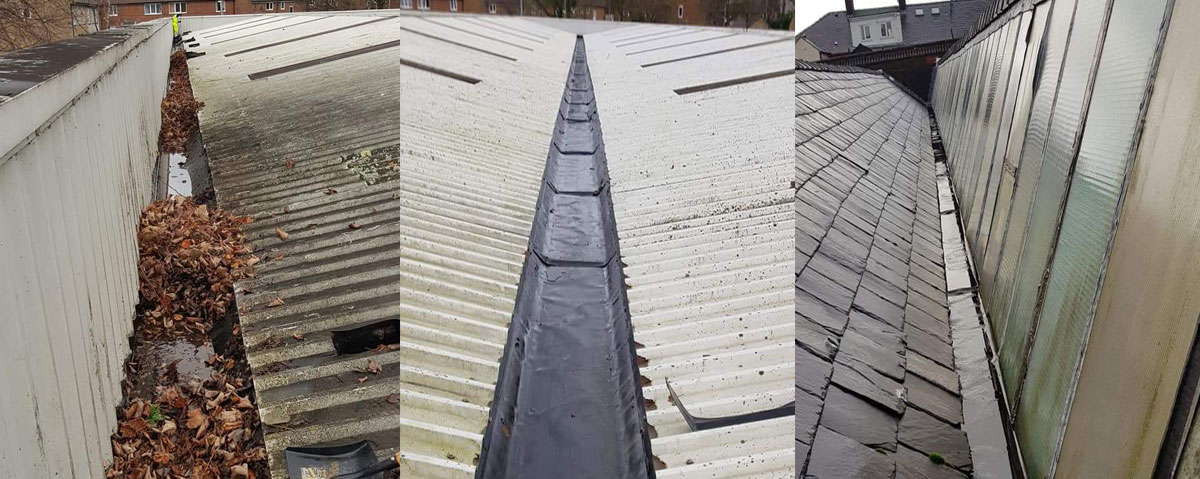 Industrial Gutter Cleaning Services